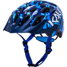 Kali Chakra Pixel Casque Adolescents, blue